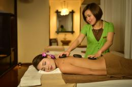 Benefit of hot stone massage
