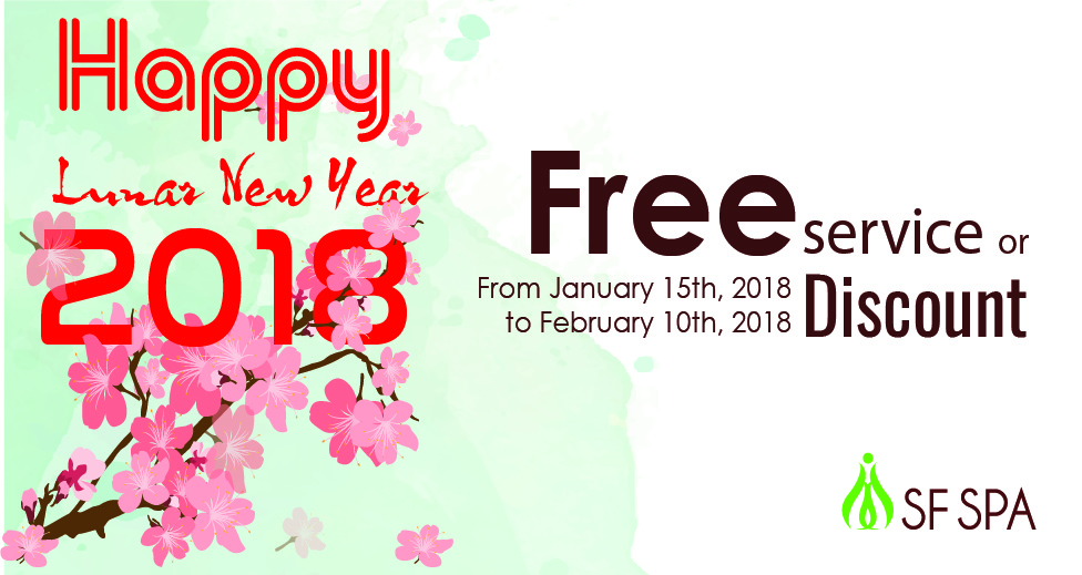 Happy Lunar New Year Promotion 2018